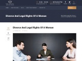 Divorce And Legal Rights Of A Woman