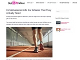 Motivational Gifts for Athletes
