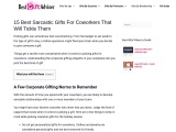Best Sarcastic gifts for coworkers