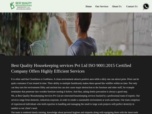 Best Quality Housekeeping Services Pvt Ltd Nagpur India – besthousekeepingindia