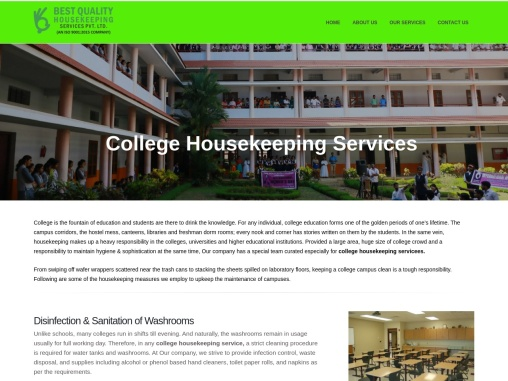 College Housekeeping Services In Nagpur India – besthousekeepingindia