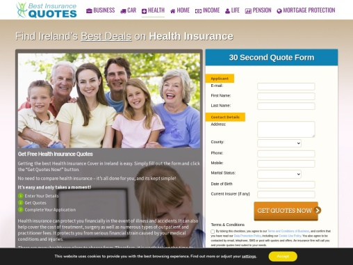 Health Insurance Quotes In Ireland