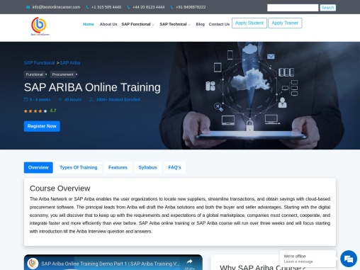 Know More SAP Ariba Course Content   Sap ariba software Training   Ariba s