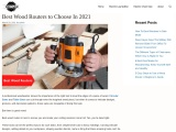 BEST WOOD ROUTERS TO CHOOSE IN 2021