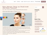 Botox Aftercare Services At Beverly Hills