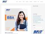 BBA in Dehradun | Amission open | BFIT college | Best colleges