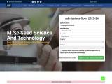 Best M.Sc Seed Science & Technology College in Dehradun