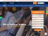 Master of Arts in Political Science