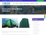 Construction safety nets in Hyderabad