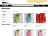 Artificial Hanging Flowers   Bharat Wholesales