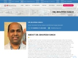 Doctor Bhupesh Singh A Senior Consultant And Practicing Ophthalmologist at Bharti Eye Hospital, New Delhi