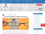 Eye Care Tips When You Work from Home