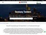 Get Germany tender information online