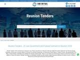 All Latest Reunion tender information Online