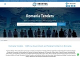 All Latest tender online information from romania