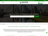 Get Tenders information from South Africa