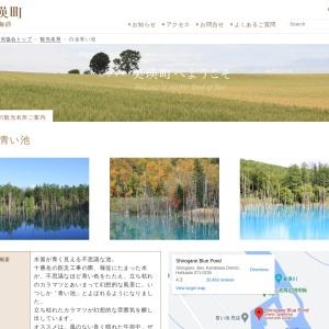 白金青い池 :: 一般社団法人 美瑛町観光協会