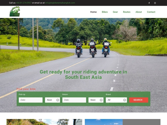 Big Bike Rental Bangkok – Home