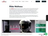 Rider wellness monitoring system
