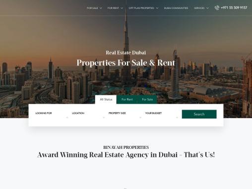 Dubai Apartments for Sale – Buy Apartment in Dubai | Binayah