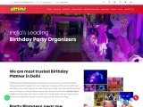 Birthday Event Planners in Delhi
