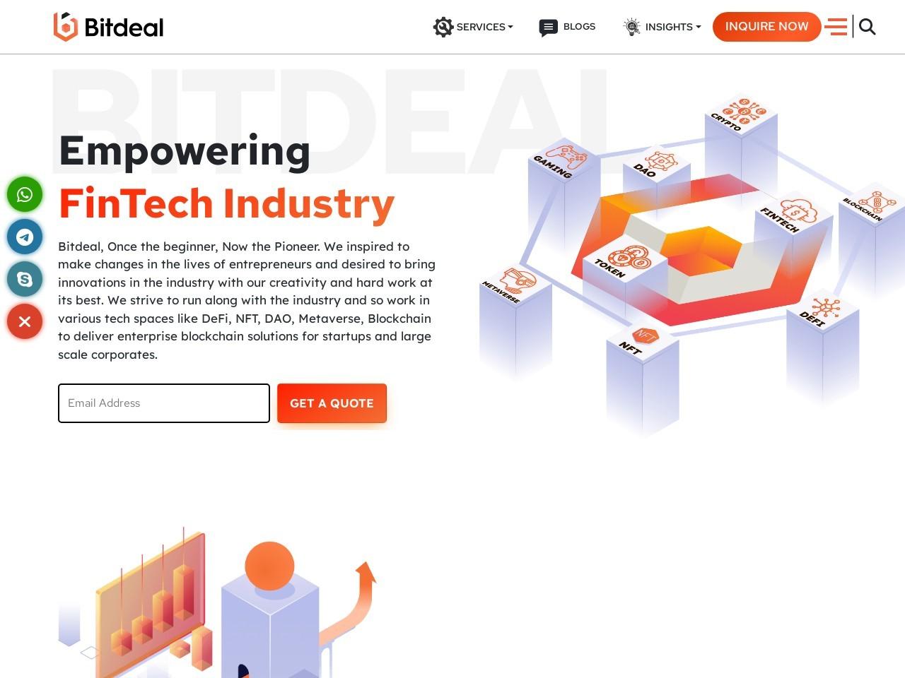 Bitcoin Exchange Website Development Company