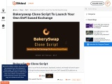 Bakeryswap Clone Script To Launch Your Own DeFi Based Exchange