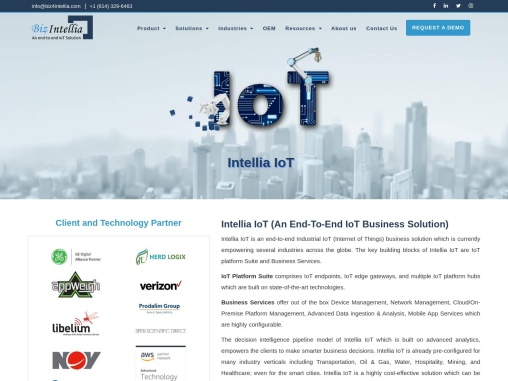 End to end IoT Solutions Provider