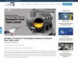 Benefits of Using IoT Technology to Measure Domestic Fuel Tank Levels