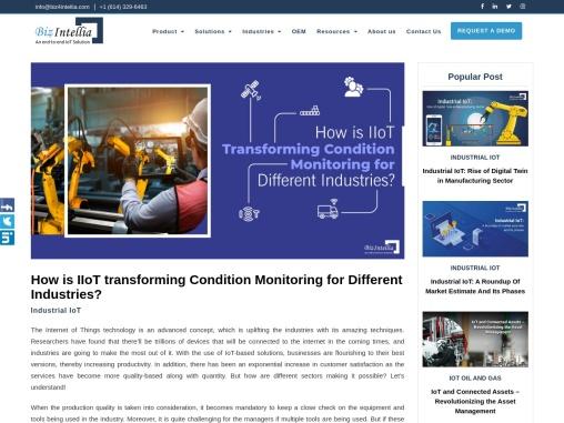 How Is IIoT Transforming Condition Monitoring For Different Industries?