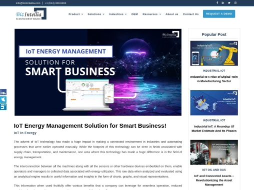 IoT Energy Management Solution for Smart Business!