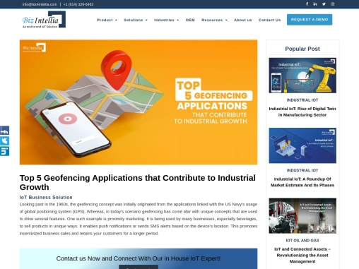 Top 5 Geofencing Applications that Contribute to Industrial Growth