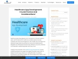 Key Factors to consider while crafting Healthcare Apps!
