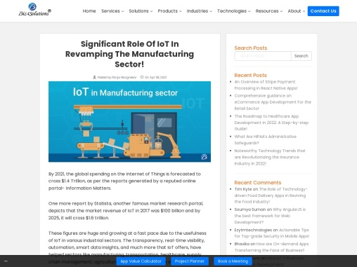 IoT in Manufacturing: Top-notch Advantages and Use-cases!