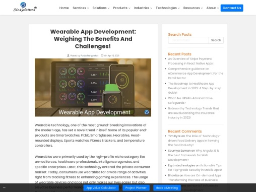 Wearable technologies: Advantage and Challenges