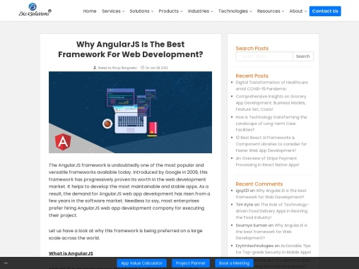 Key Reasons why Expert Developers prefer Angularjs for designing Web Applications?