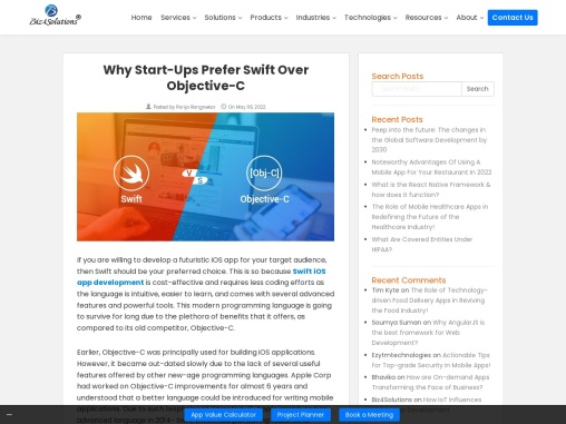 Why to choose Swift for iOS app development
