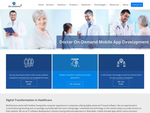 Top Doctor on Demand Mobile App Development Company in Texas