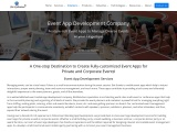 Event app development company in USA and India