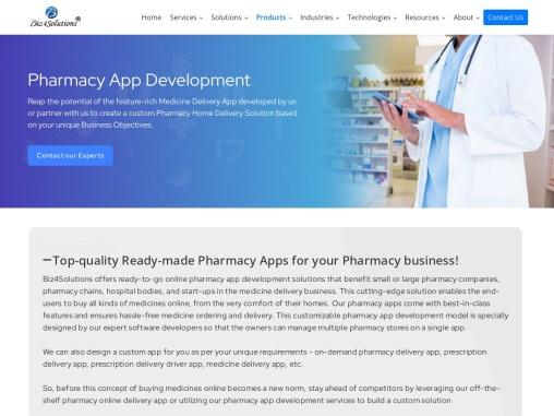 Pharmacy app development in USA