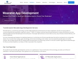 Wearable app development  for your business