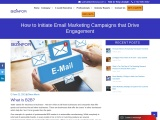 How to initiate email marketing campaigns that drive engagement