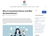 Learn about  Investment Advisors Services