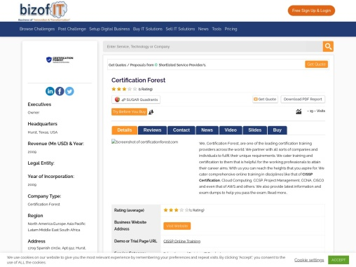 Certification Forest – IT Training Provider