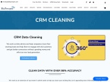 CRM data cleaning