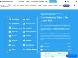 Zoho CRM Users List