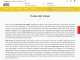 Pulse Jet Valve – Dust Collector Valve- BKL Controls India