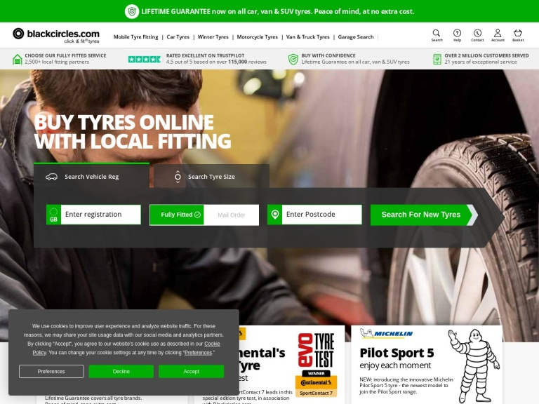 Black Circles Discount Codes & Promo Codes screenshot