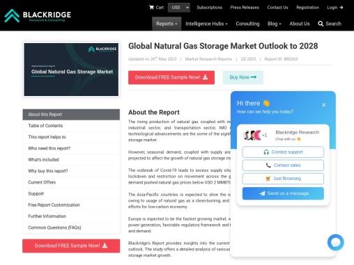 Global Natural Gas Storage Market