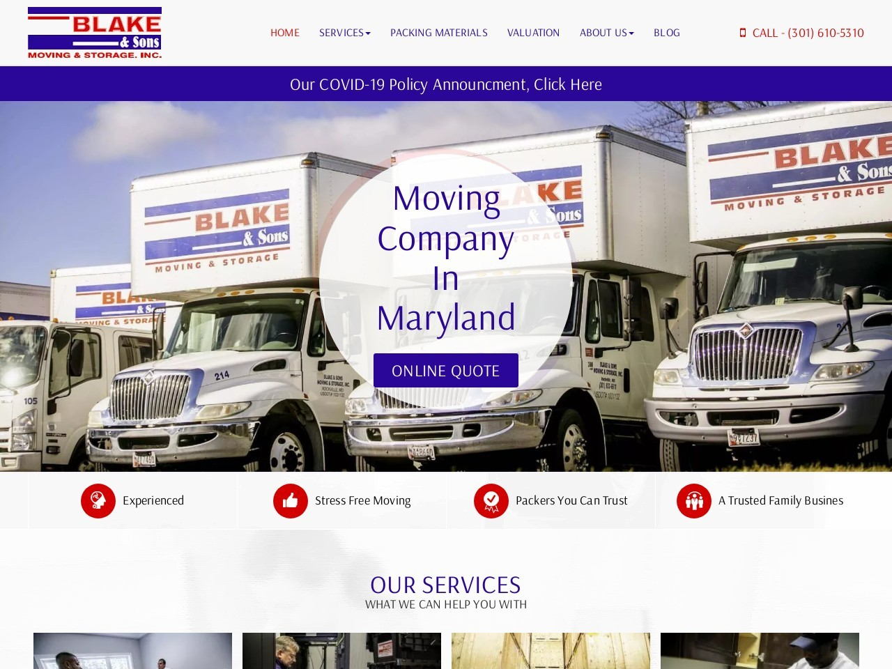Affordable Movers In Frederick MD